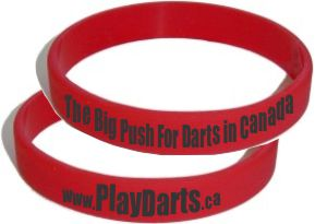 Buy Playdarts.ca wristbands